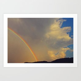 .over the rainbow. Art Print