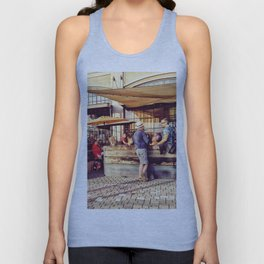 Afternoon chilling Unisex Tank Top