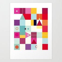 Energy Art Print