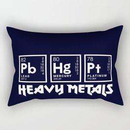 Heavy Metals Rectangular Pillow