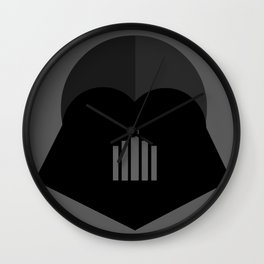 Darth Vader in 2D Wall Clock