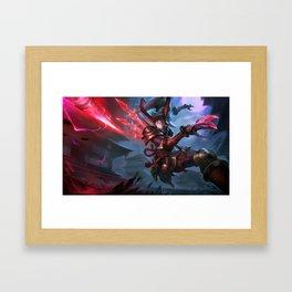 Blood Moon Kalista League of Legends Framed Art Print
