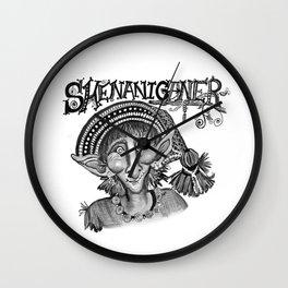 Shenaniganer Wall Clock