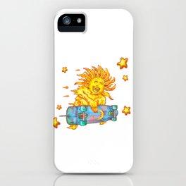Sun Skate A iPhone Case