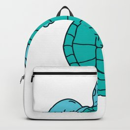 Sea Turtle Swimming Drawing Backpack