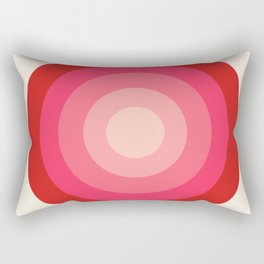 Keepin' on - 70's style retro vibes throwback minimal 1970s art decor gifts Rectangular Pillow