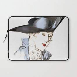 Hat from bygone Era Laptop Sleeve