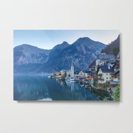 Hallstatt, Austria Metal Print