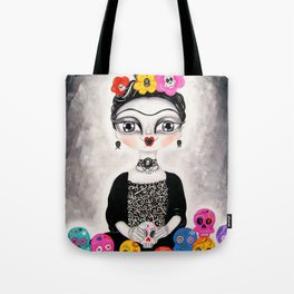 Frida day of the dead Tote Bag