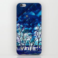 Blue Farmland iPhone & iPod Skin