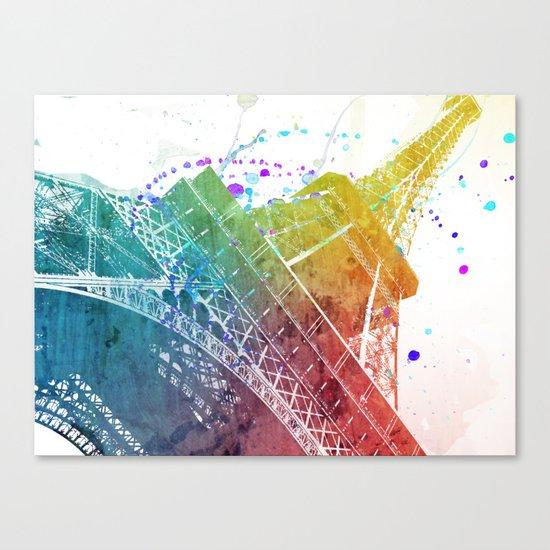 Paris je t´aime.. Canvas Print
