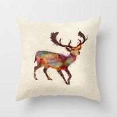 Oh deer ! Throw Pillow