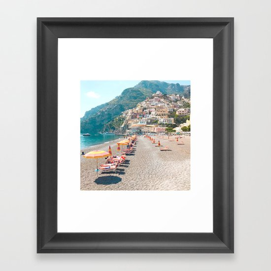 perfect beach day - Positano, Italy by ashleyestrin