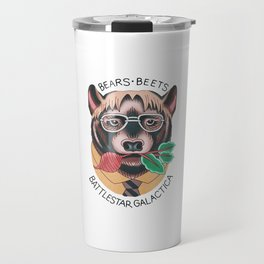 Bears beets Travel Mug