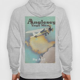 Anglesey Vintage style travel poster. Hoody
