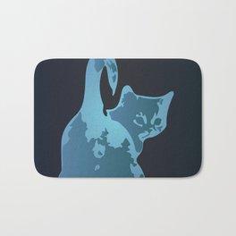 Cat Blues Bath Mat