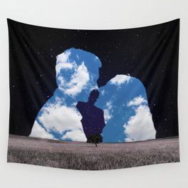 Dear Magritte Wall Tapestry