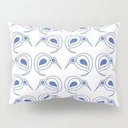 Cornflower blue kiwis Pillow Sham