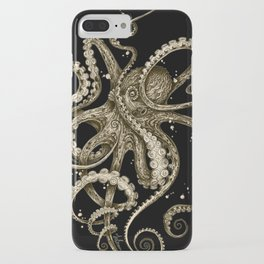 Octopsychedelia Sepia iPhone Case