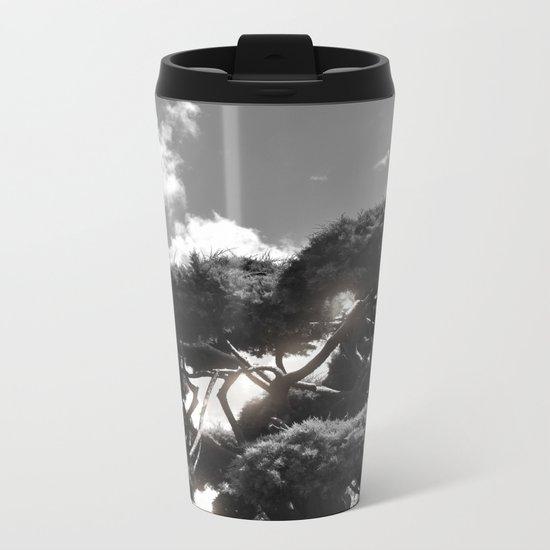 B&W Tree Metal Travel Mug