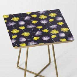 pressed flower Side Table