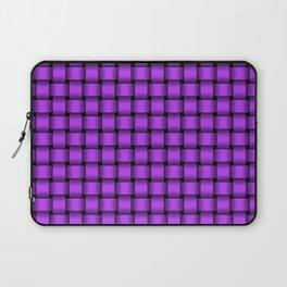 Small Light Violet Weave Laptop Sleeve