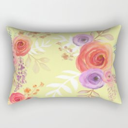 Floral Baby Rectangular Pillow