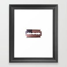 American Razor Framed Art Print