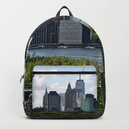 Downtown Manhattan Skyline Backpack