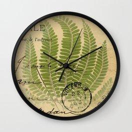 Botanical 2  Wall Clock