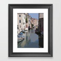 Venecia Framed Art Print