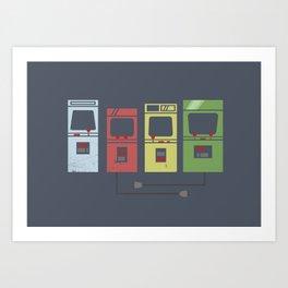 Arcade Machines Kunstdrucke