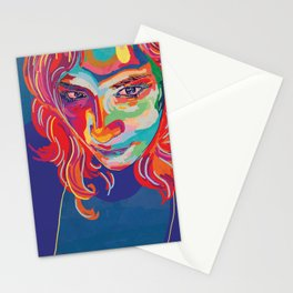 self portrait n1 Stationery Cards