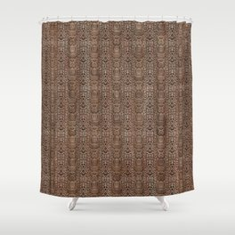 Python Boot Shower Curtain