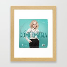 Come To Mama Framed Art Print