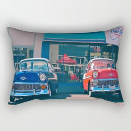 Classic Bel Airs Rectangular Pillow