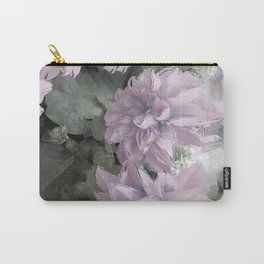 Pastel Dahlia's Carry-All Pouch
