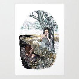 The ash tree sign Art Print