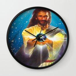 God Bless the World Wall Clock