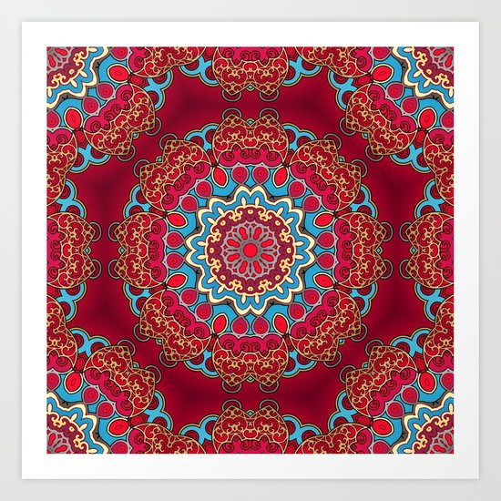 Mix&Match:  Merry Christmas From Tibet (with LOVE!) 01 Art Print