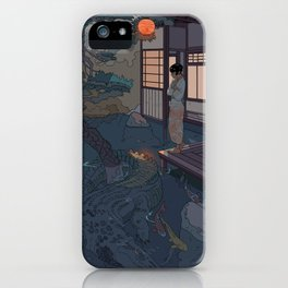 Naoki and the Crocodile iPhone Case