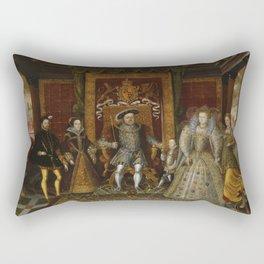 The family of Henry VIII Rectangular Pillow
