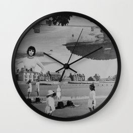 Girls of Summers Past Wall Clock