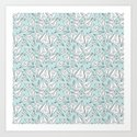 Paper Airplanes Mint by beththompson