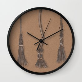 Witches Cubby Wall Clock