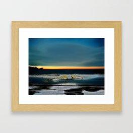 Rising Winter Solstice Framed Art Print