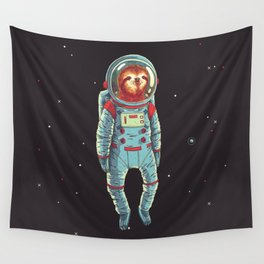 Slothstronaut Wall Tapestry