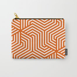 Persimmon - orange - Minimal Vector Seamless Pattern Carry-All Pouch