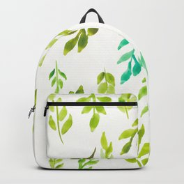 180726 Abstract Leaves Botanical 13|Botanical Illustrations Backpack