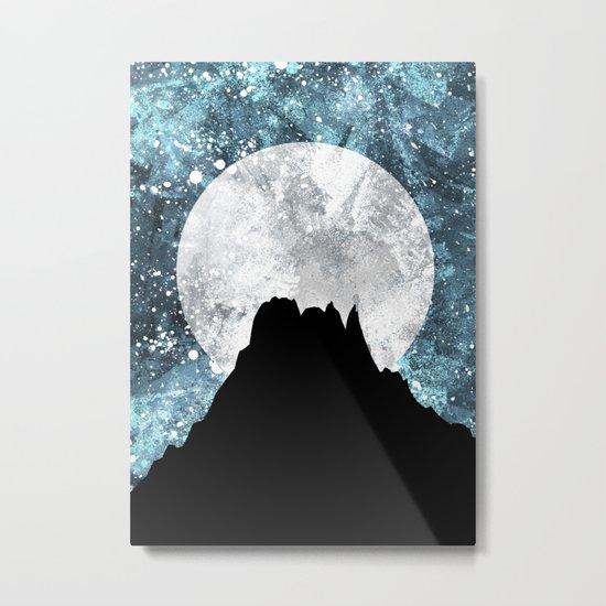 Midnight Moon Metal Print